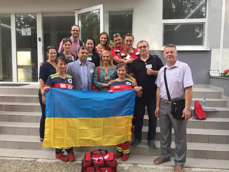Команда учасників у Словаччині