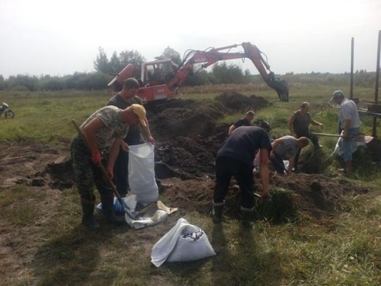 На Ратнівщині поремонтували аварійну гідроспоруду