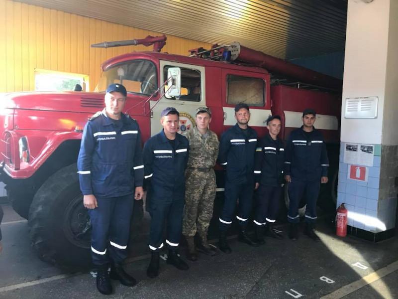 У Ратному привітали рятувальників із професійним святом