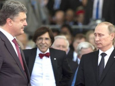 Президент України та Росії