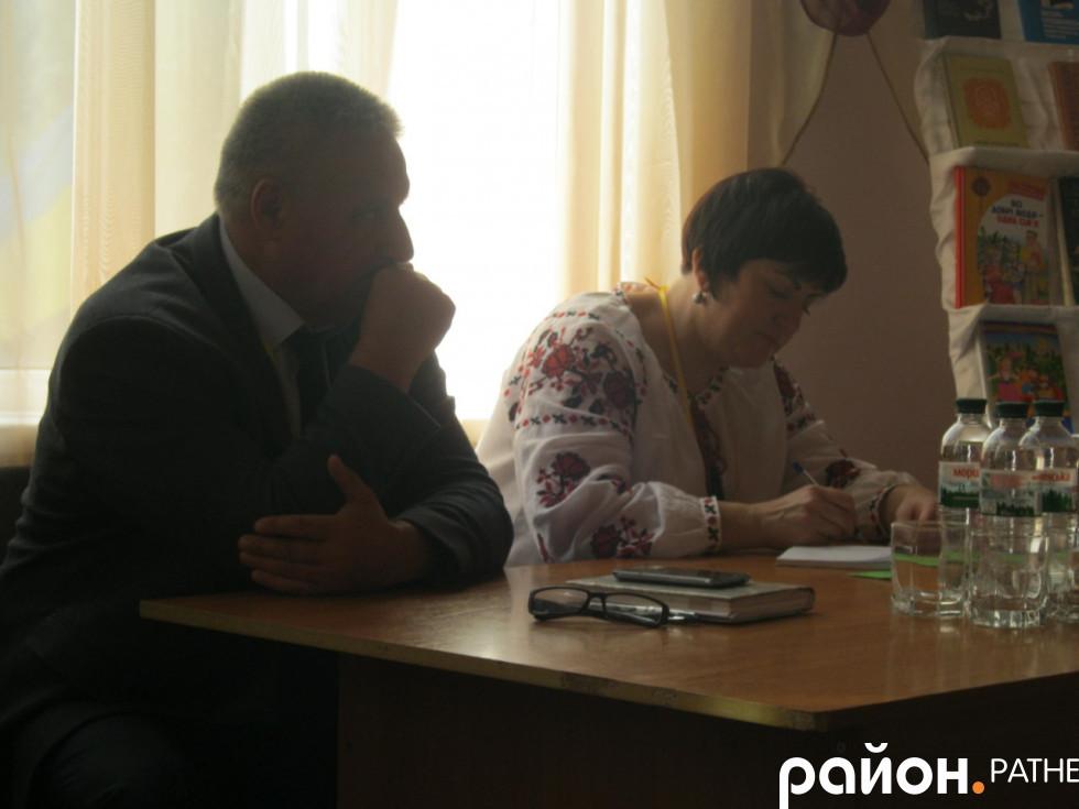 Валентин Андросюк та Тетяна Ганжа
