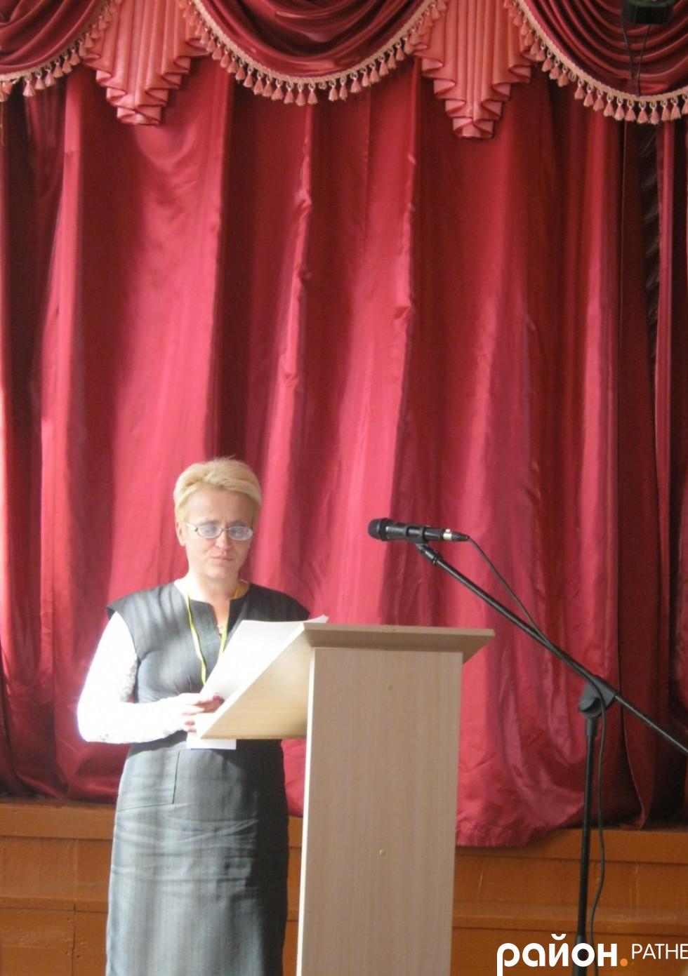 Людмила Козел розповідає про книгу, як джерело виховання