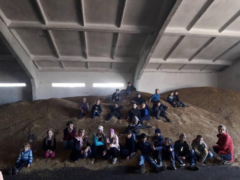 Прохідські школярі відвідали «Ратнівський аграрій»