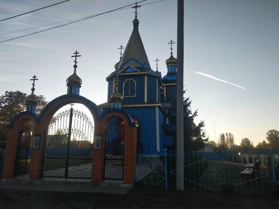 Храм села Заброди