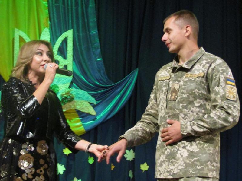 У Ратному влаштували концерт на честь захисників України