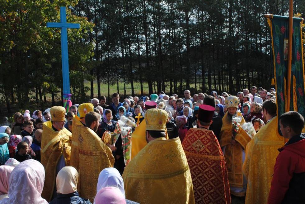 Освячення хреста