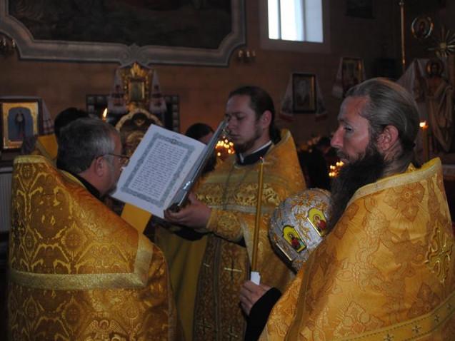 У селі на Ратнівщині відзначили храмове свято