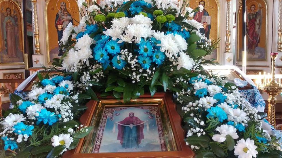 Ікона «Покров Пресвятої Богородиці»