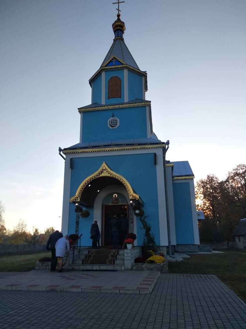 Храм села Оріхове