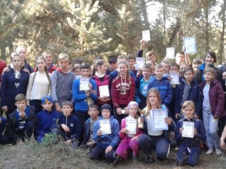 На Ратнівщині провели змагання зі спортивного орієнтування