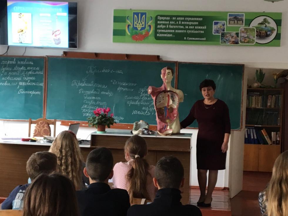 Тетяна Шоломицька розповідає про систему органів травлення