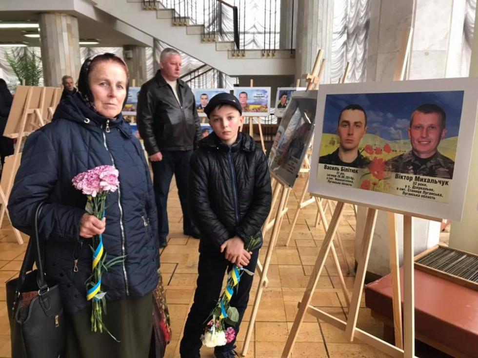 У Луцьку вшанували загиблих героїв Ратнівщини