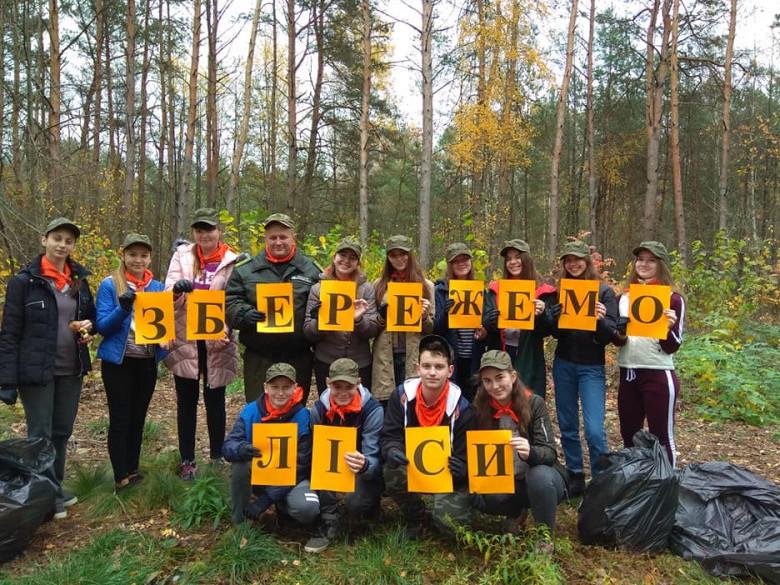 На Ратнівщині прибрали ліс