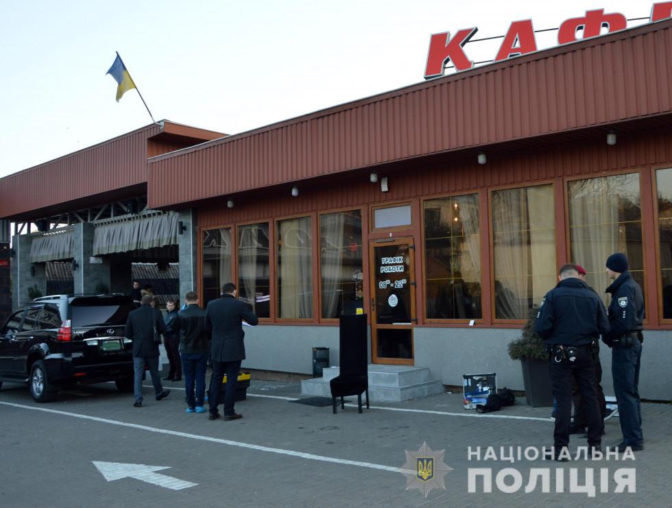 Стрілянина на автомийці у Луцьку