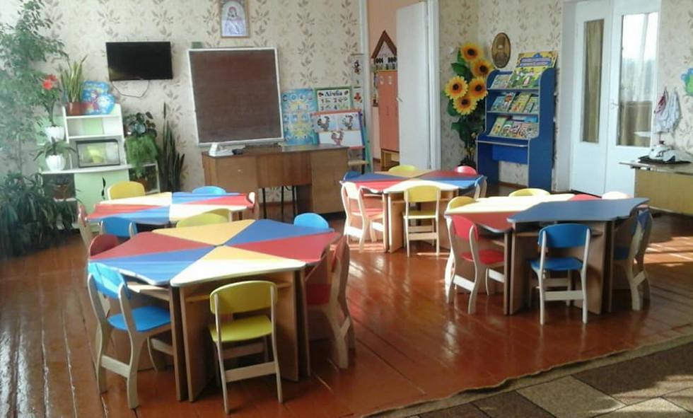 У дошкільнят з'явилися нові меблі