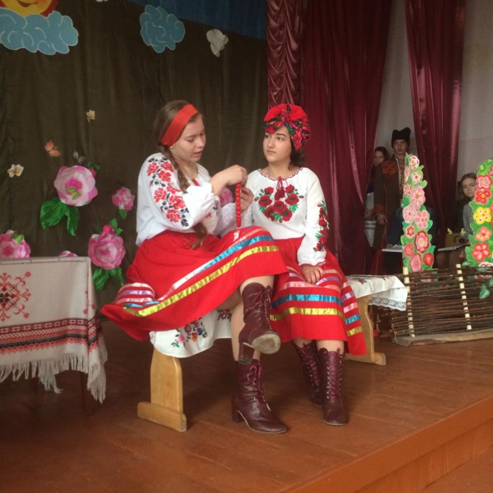 Актори села Замшани