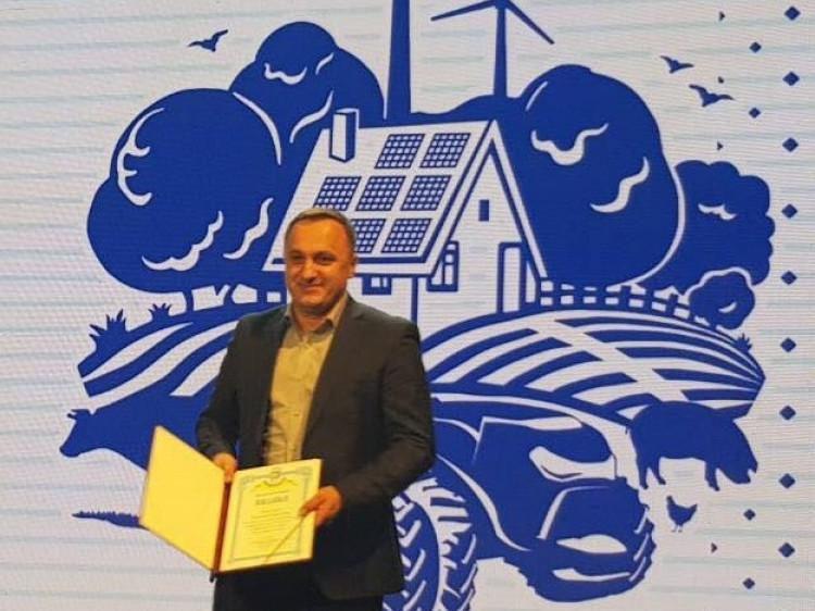 Керівник «Ратнівського аграрія» отримав подяку від Прем'єр-міністра України