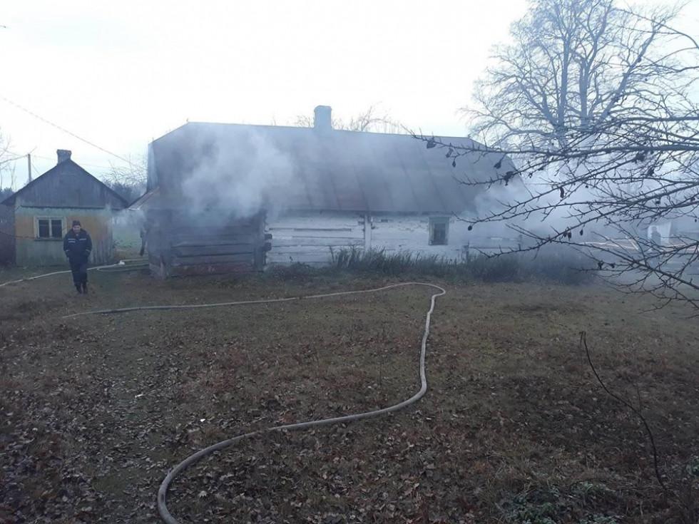 У Конищі рятувальники гасили пожежу