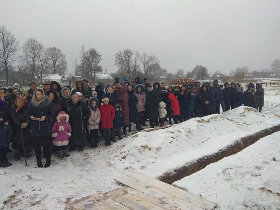 Жителі села Мельники-Річицькі