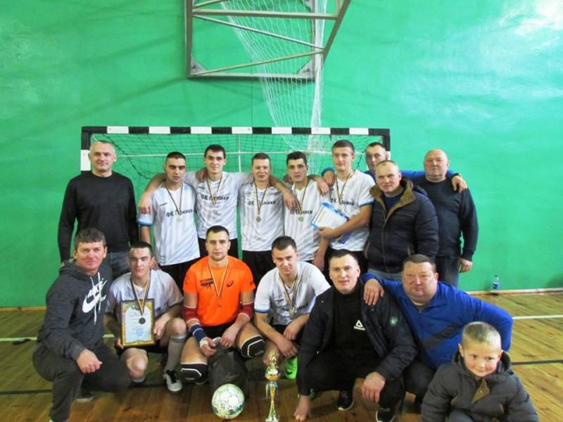У Ратному провели фінальні змагання з міні-футболу