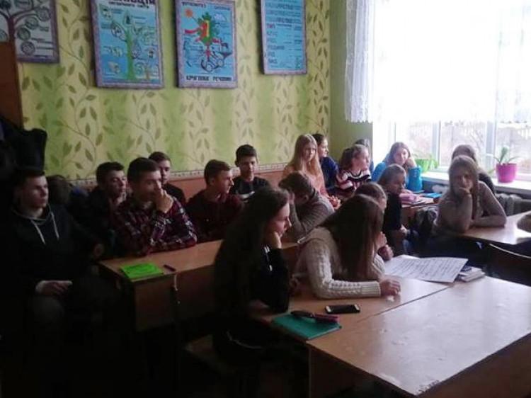 У Проході школярам розповіли про права дитини