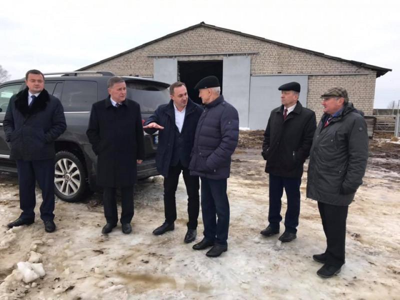 Керівники краю відвідали «Ратнівський аграрій»