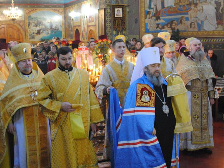 Митрополит Володимир очолив богослужіння у Гірниках