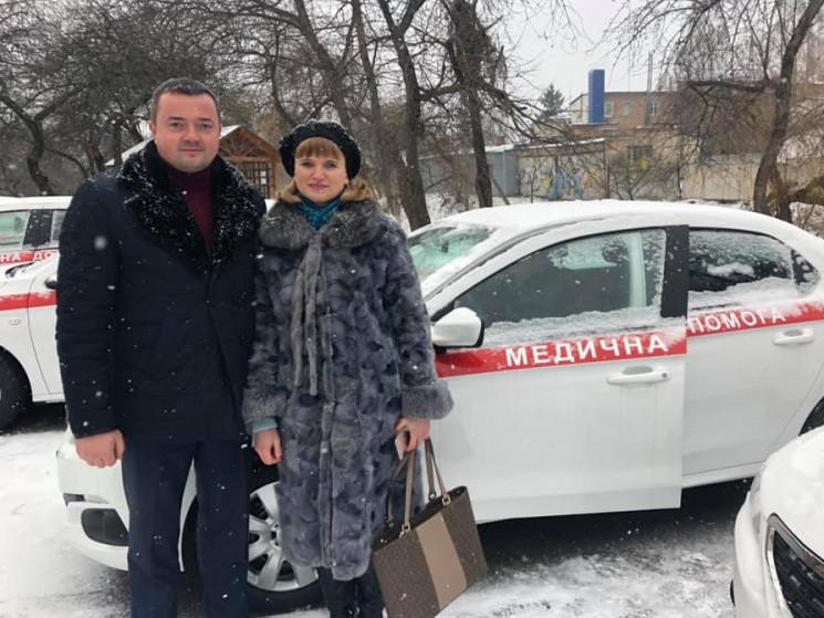 Ратнівська «первинка» отримала новий автомобіль