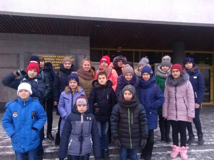 Діти із Ратнівщини побували на святі ялинки у Луцьку