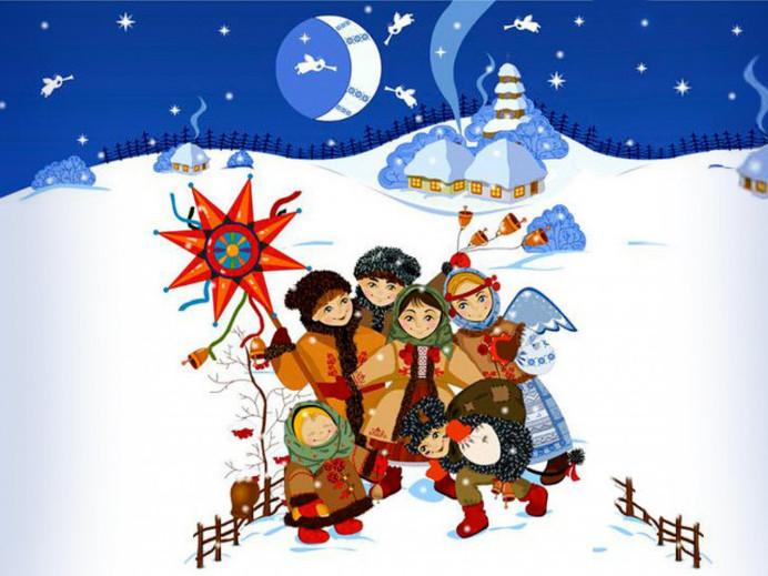 Вітаємо з Різдвом!