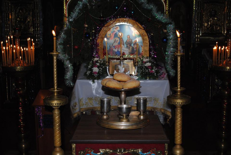 Святкове оформлення храму