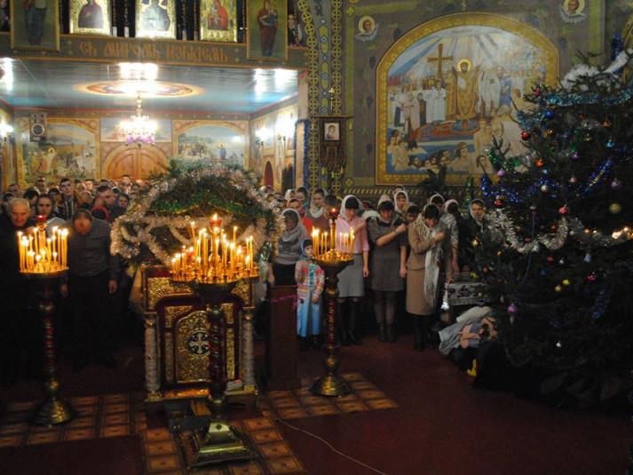 Різдвяне богослужіння у Гірниках