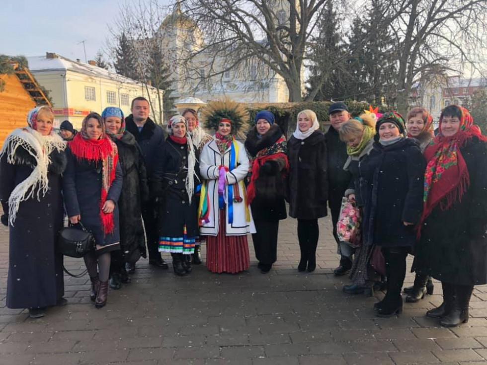 Делегація Ратнівщини на фестивалі