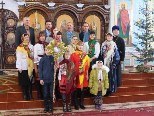 У Ратному вперше відбувся фестиваль колядок і духовних пісень