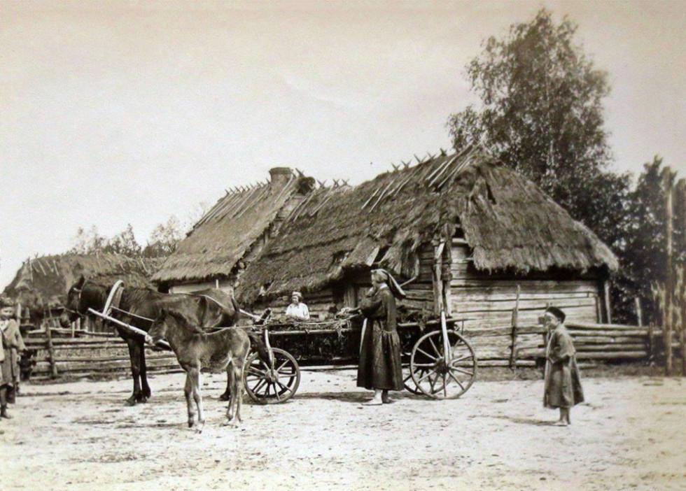 Раритетне фото села Жиричі