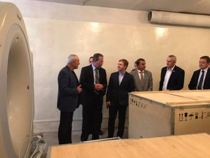 Томограф у Ратнівській лікарні планують запустити у роботу впродовж 2019 року