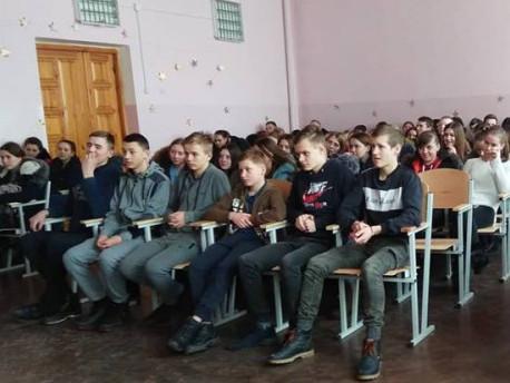 У Ратному учням розповіли про правопорушення у школі