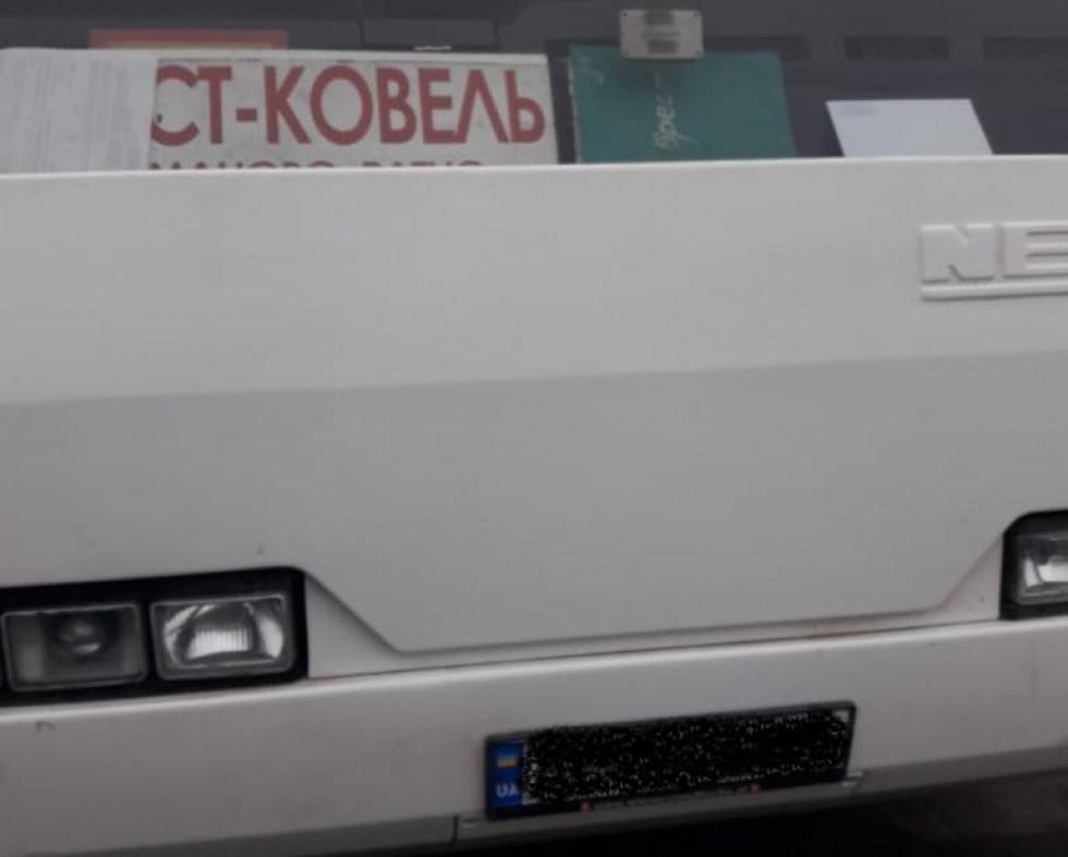 Рейсовий автобус «Брест – Ковель»