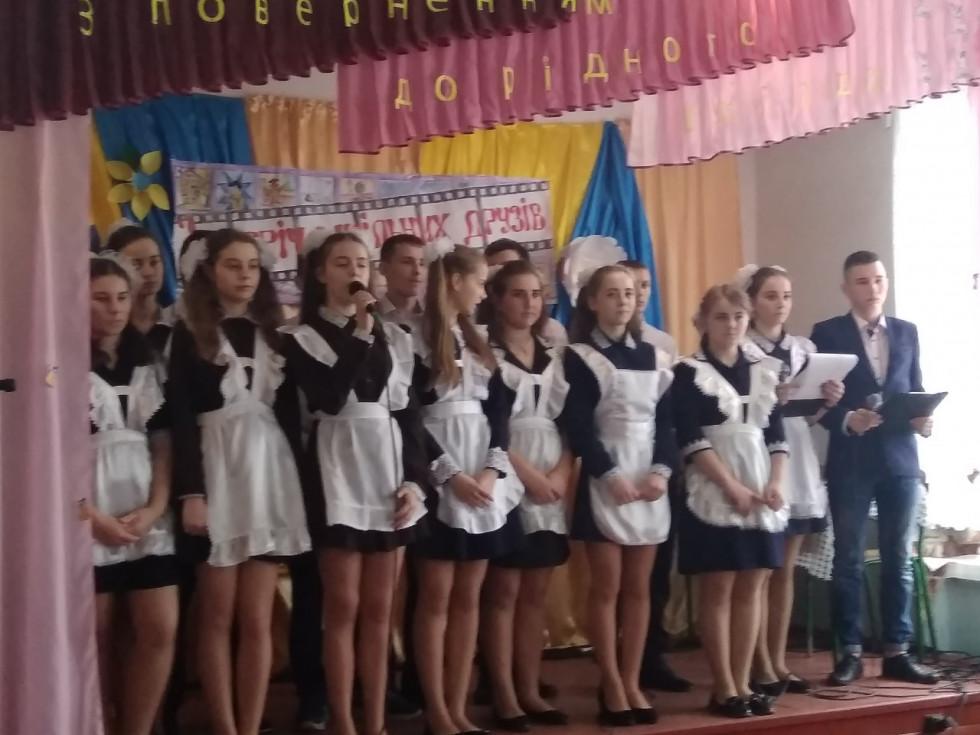 Випускники школи села Гірники