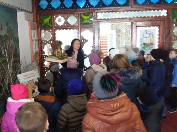 Білоруські школярі відвідали районну бібіліотеку