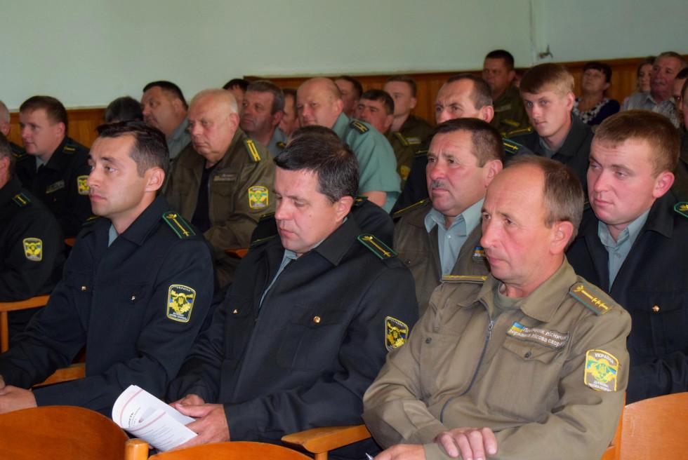 Степан Івахів зустрівся із волинськими лісівниками